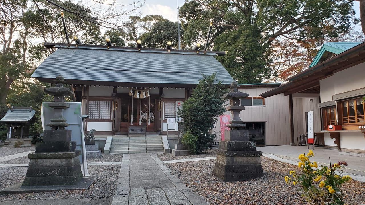 我孫子市台田の柴崎神社